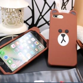 华为荣耀8手机壳可爱熊硅胶卡通保护套V8/青春版