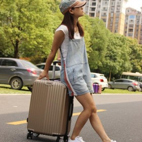 韩版拉杆旅行皮箱静音万向轮学生小清新三个尺寸一个价