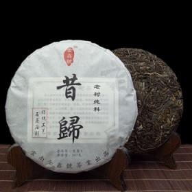 【买一送一同款】普洱茶生茶昔归古树生茶饼茶357克
