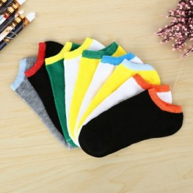 夏季船袜男短袜薄款防臭防滑隐形低帮运动透气多色款