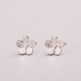 韩版S925纯银耳钉银针防过敏迷你时尚清新个性耳饰
