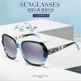 冰冰同款镶钻偏光太阳镜优雅显瘦墨镜