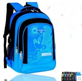 减负护脊学生书包防水耐磨双肩包双肩防水儿童背包