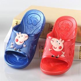 夏季儿童拖鞋男童女童浴室内防滑小猪佩奇乔治不包头宝