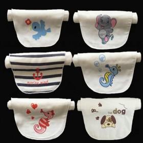 儿童吸汗巾纯棉宝宝隔汗巾婴儿汉巾0加大码幼儿园垫