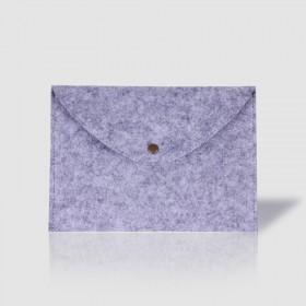 羊毛毡文件夹A4A5文件袋办公包公文包档案袋手拿包