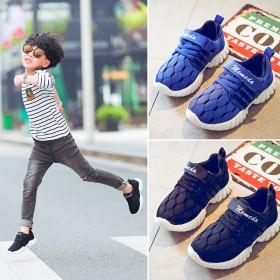 男童鞋春款2017韩版儿童运动鞋中大童休闲鞋子网面