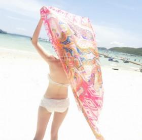 比基尼披纱加大超大百搭沙滩巾性感防晒沙滩巾波西米亚