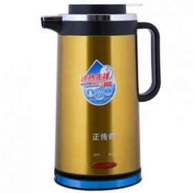 双层防烫电热水壶不锈钢电壶保温电热壶电茶壶烧水壶