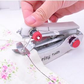 微型手动缝纫机迷你家用便携袖珍小型手持简易吃厚边多