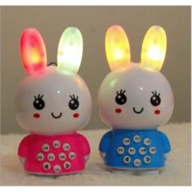 迷你兔婴幼儿童早教益智故事机宝宝学习玩具发光