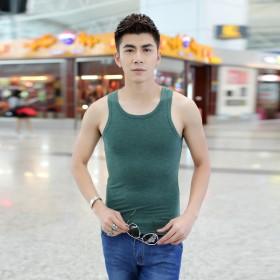 夏季薄款男士小背心弹力运动健身打底汗衫韩版修身潮