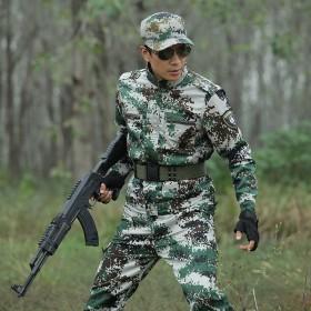 【正宗包邮】迷彩服套装特种兵林地迷彩作训服军迷军装