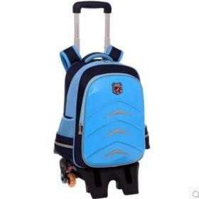 拉杆书包儿童学生书包六轮防水免洗拖背包拉杆箱包