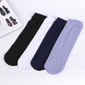 超薄冰丝透气袜子 3双装