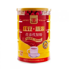 千年堂红豆薏米粉500g 熟薏米红豆薏仁粉