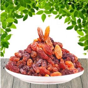 500g×2(2斤)新疆无籽红葡萄干皮薄肉多有弹性