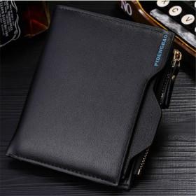 皮登保钱包男士休闲短款钱夹多卡位时尚驾驶证包