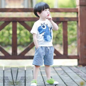 男童夏装2017新款套装夏季韩版潮童装儿童宝宝短袖