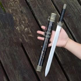 迷你刀剑小剑刀短剑防身短刀具龙泉不锈钢