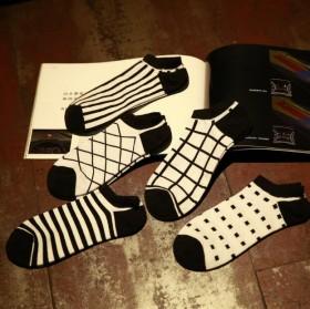 【五双装】运动船袜男士隐形袜低帮浅口棉
