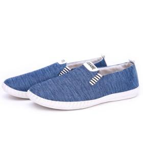 韩版运动休闲鞋男士单鞋小红鞋网布鞋老北京布鞋椰子鞋