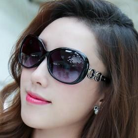 特价太阳镜女士2017玉晶质感韩版圆形太阳眼镜个性
