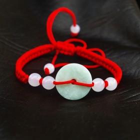 小红绳玉手链,宝宝手链