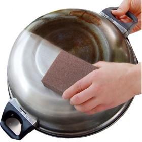 3个加密纳米金刚砂海绵除垢清洁厨房魔力擦除锅底焦渍