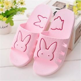 家居韩版可爱女夏凉拖鞋夏天居家塑料防滑浴室夏季拖鞋
