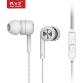 BYZ k78 手机耳机全民k歌带麦重低音耳机