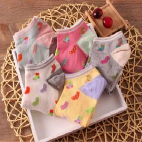 可爱日韩女袜船袜短袜隐形袜一双装