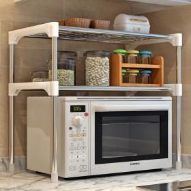 厨房微波炉架子烤箱架置物架调料架调味架收纳储物架锅