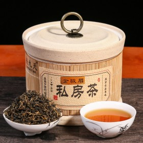 金骏眉红茶陶瓷罐装150g