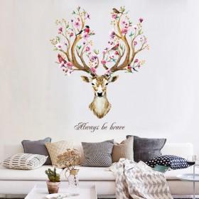 创意贴纸房间卧室客厅自粘墙贴画 多种可选