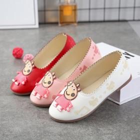 儿童秋季童鞋上新 小猪佩奇 单鞋 女童小皮鞋