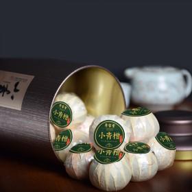小青柑普洱茶8年宫廷柑普茶