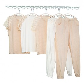 儿童睡衣男童女童夏季纯棉薄款家居服中大童空调服
