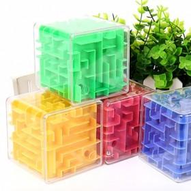 儿童益智早教玩具 透明3d走珠立体迷宫弹珠 成人智