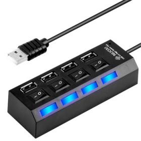 高速分线器 usb2.0HUB多接口U盘独立开器
