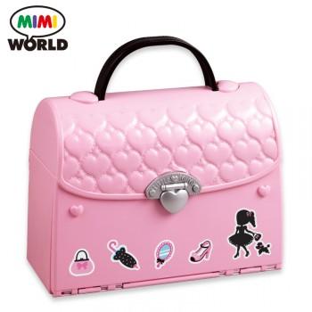 mimiworld 甜心提包屋儿童女孩玩具 过家家