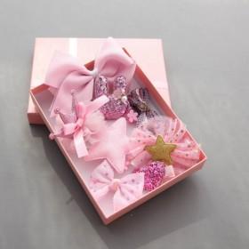 韩国儿童女童女孩发饰宝宝公主宝宝婴儿发夹皇冠套装