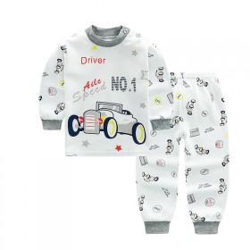 新款纯棉儿童内衣卡通婴儿内衣童内衣内裤套装创意款