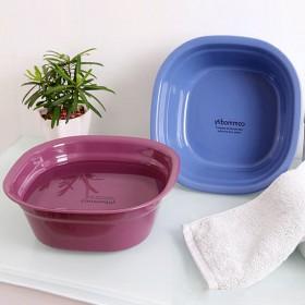 3个家用加厚脸盆宝宝洗脸盆儿童面盆塑料盆子
