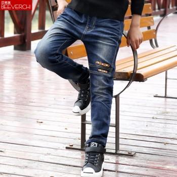 贝梵琪男童牛仔裤