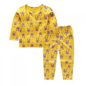 新款儿童纯棉内衣套装婴儿宝宝春秋装男女童秋衣秋裤