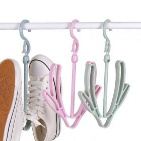 3个装 阳台晒鞋架鞋子的衣架晾鞋架晾晒架
