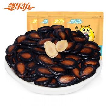 飘乐坊新疆特产蓝莓杨梅味西瓜子118gx4袋