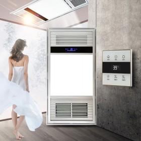 触摸屏风暖浴霸嵌入式集成吊顶卫生间暖风机