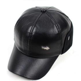 真皮帽子男棒球帽